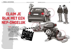 Een redactionele illustratie door Rene van Asselt